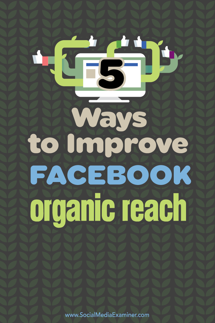 5 Ways to Improve Your Facebook Organic Reach