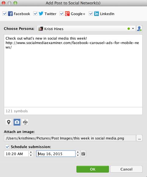 buzzbundle google+ scheduled post feature