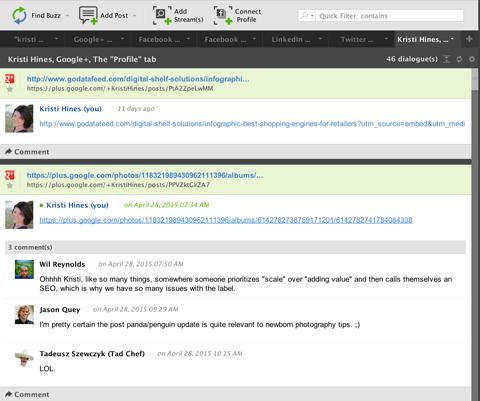 buzzbundle google+ comment feature
