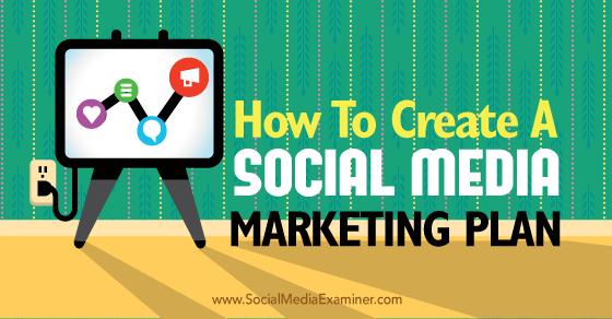 Sample Social Media Marketing Plans