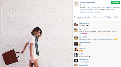 stephsterjovski madewell instagram post