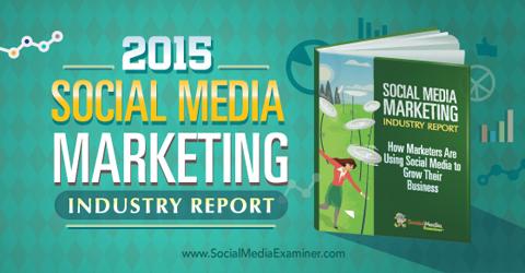 2015 social media marketing report