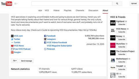 vice youtube channel description