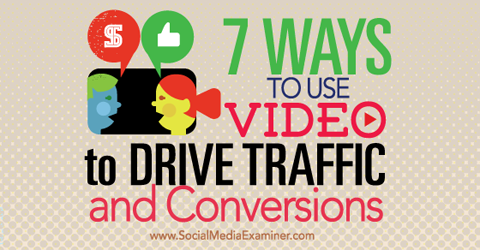 use video to drive traffic and conversions