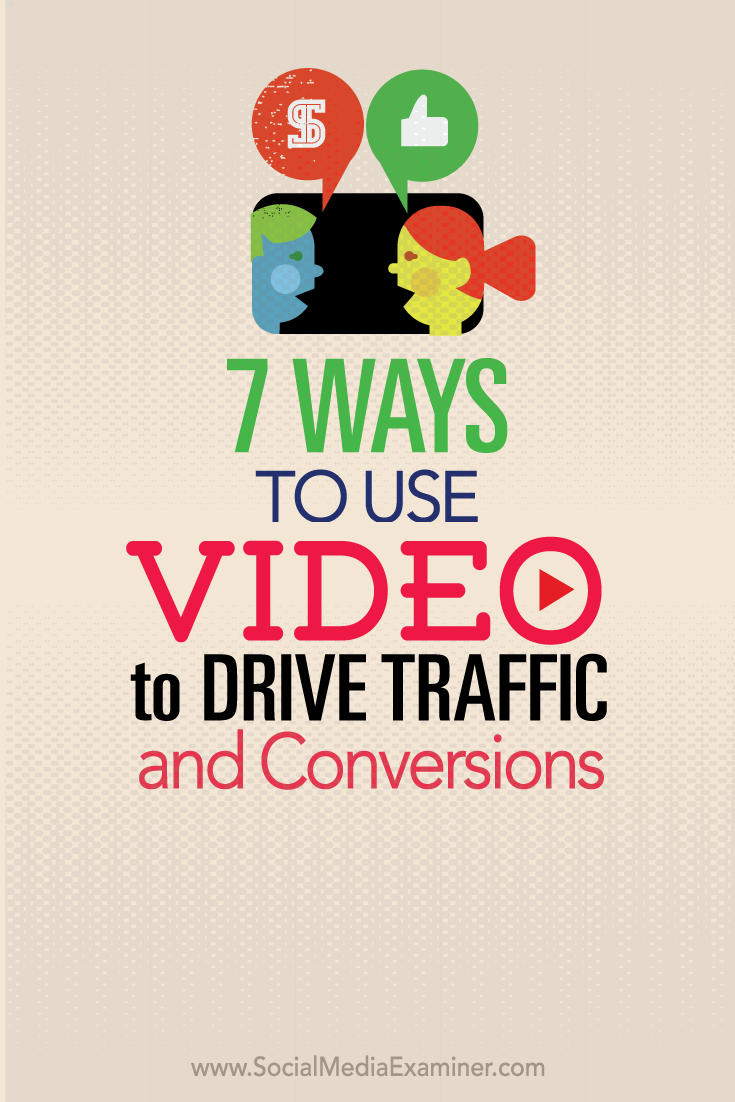 how to use video to drive traffic and conversions