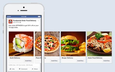 Facebook Updates Desktop and Mobile App Ads