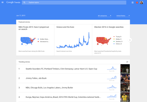 Google Trends Get a Redesign