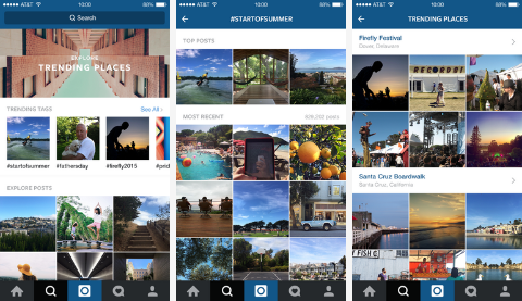 Instagram Introduces a new Search and Explore Feature