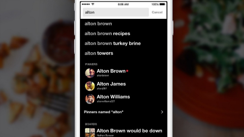 Pinterest Improves Search and Adds Verified Accounts