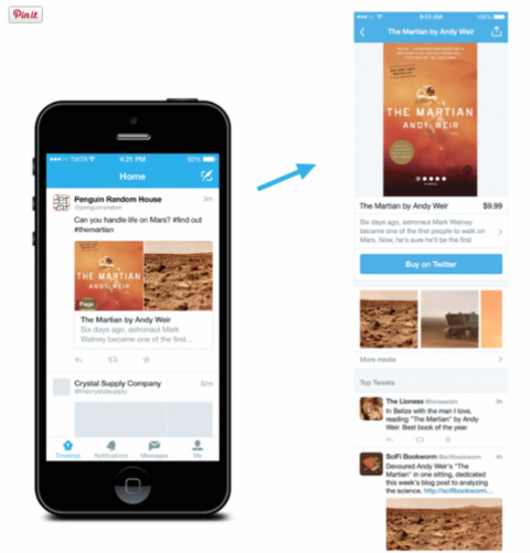 Twitter Tests Products and Places Collections