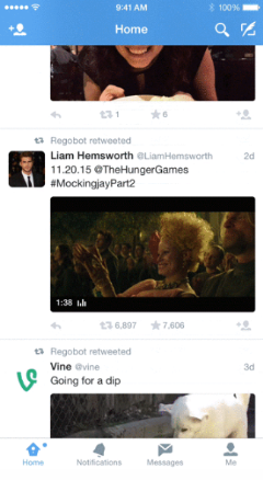 Twitter Seamless Video Experience