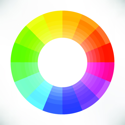 color wheel shutterstock 228029527