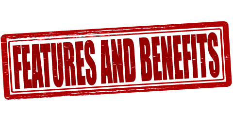 features and benefits shutterstock 193245956