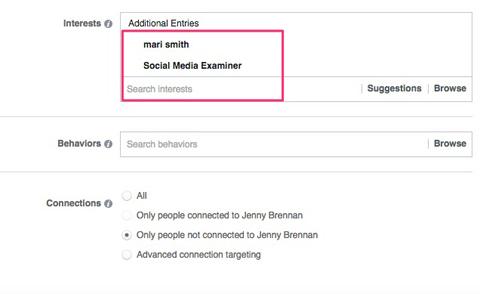 Interest Targeting on Facebook Facebook ad Interest Targeting