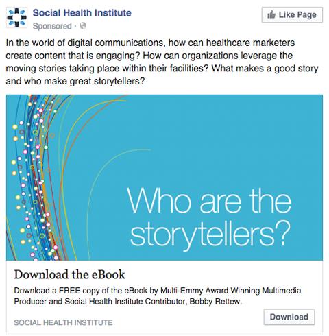 social health institute facebook ad