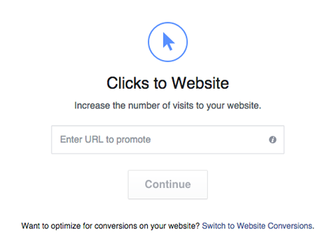 send people to content urls on your website