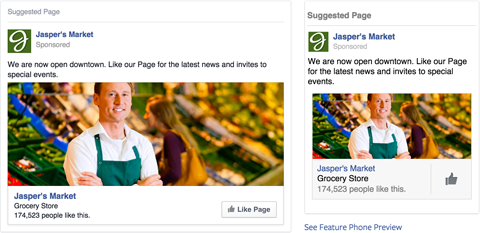 facebook ad image example