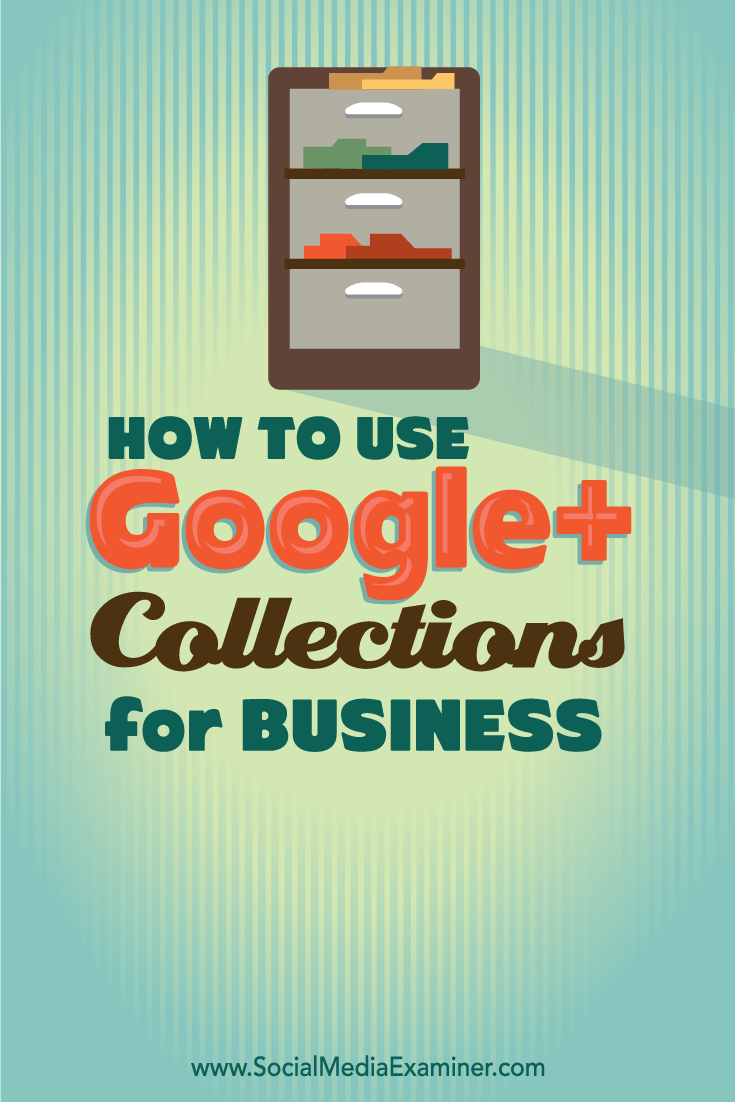 how to use google+ collections