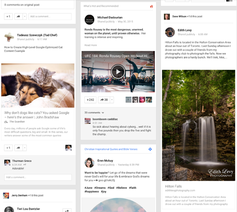 google+ post image examples