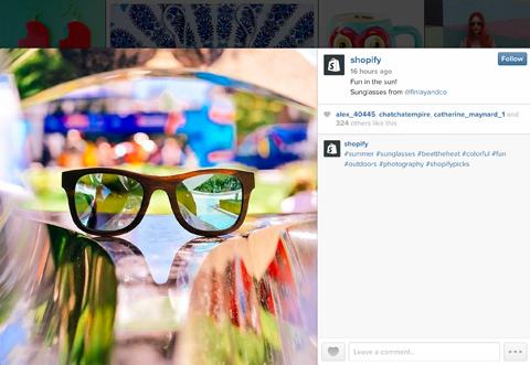 instagram post image example