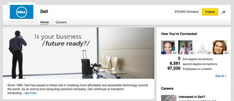 linkedin company page logo image example