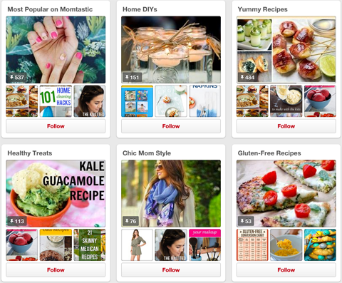 pinterest board image examples