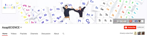 youtube channel art and profile image example