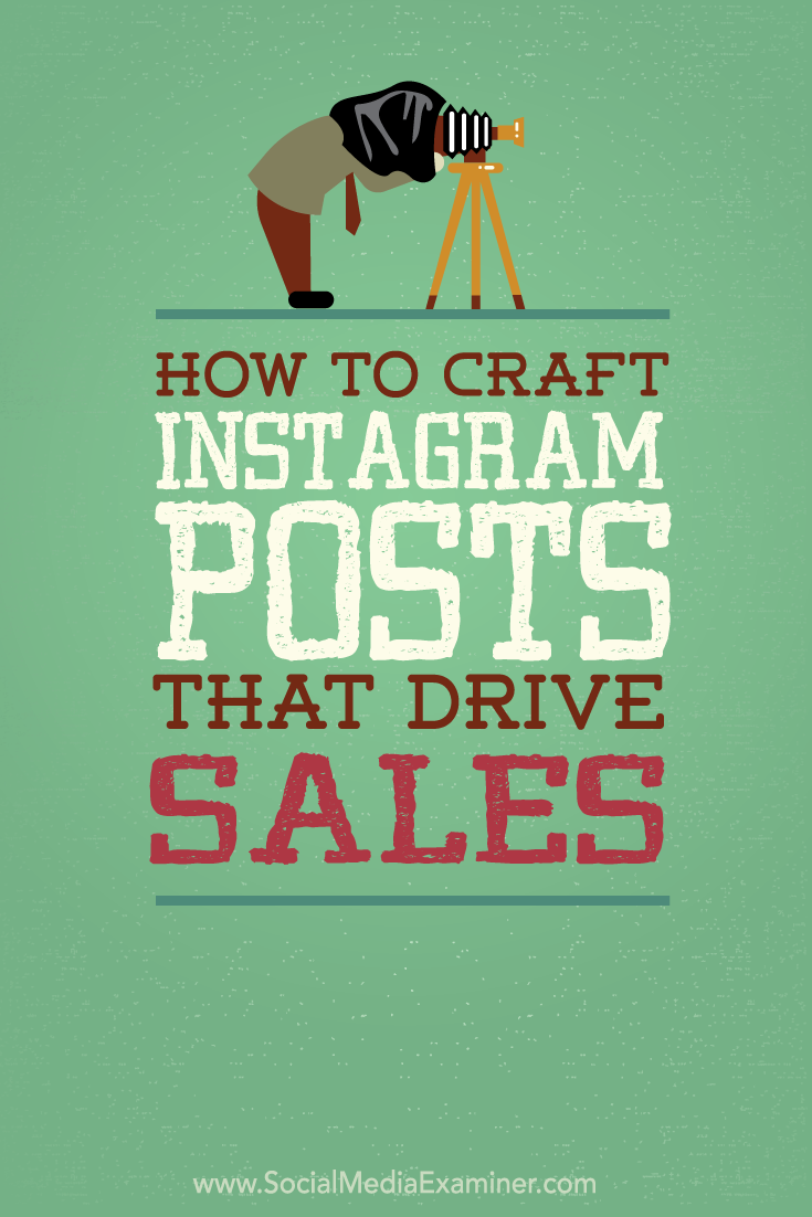how to post craft instagram posts that drive sales