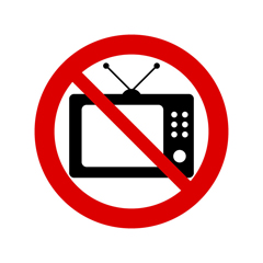 Image result for no television