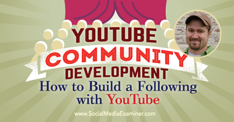 podcast 152 tim schmoyer youtube community development