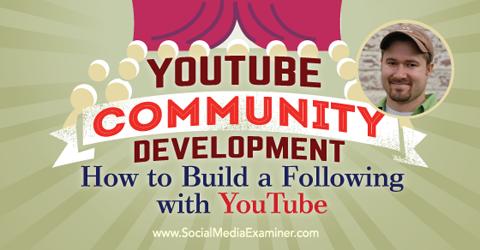 podcast 152 tim schmoyer youtube community development