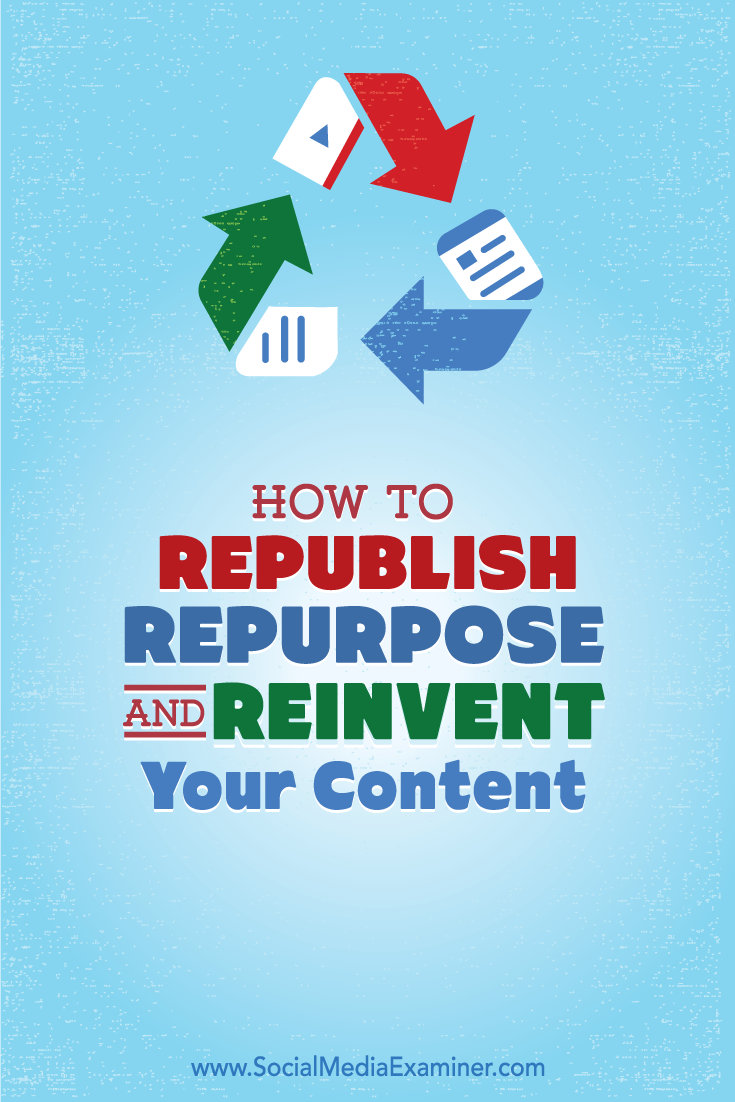 how republish repurpose and reinvent content for linkedin publisher