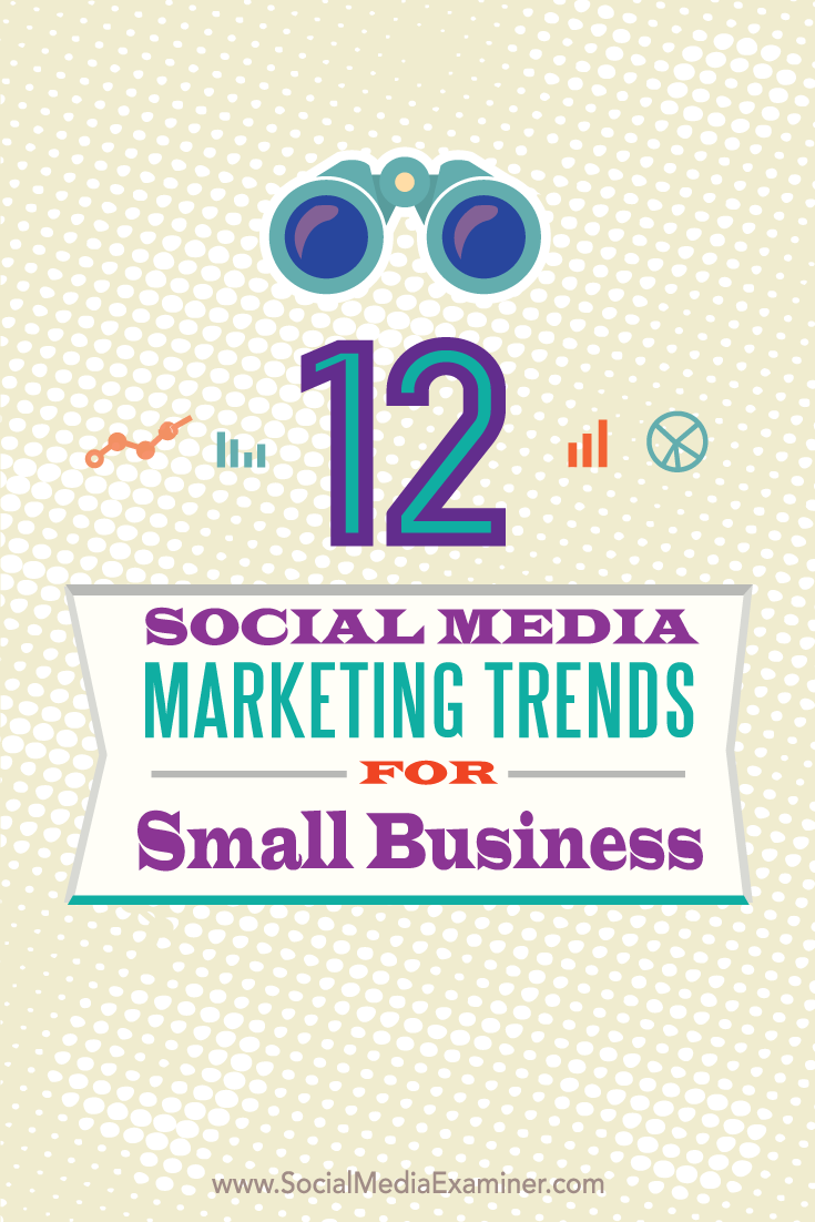 twelve social media marketing trends for small businesses