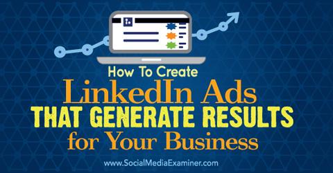 create linkedin ads