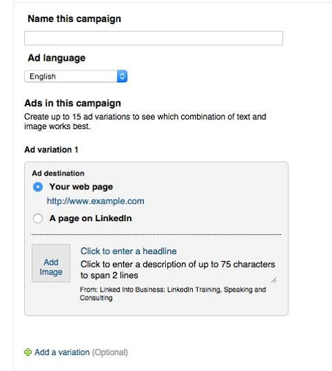 Sử dụng LinkedIn để tăng lợi nhuận doanh nghiệp, tặng khách hàng tiềm năng khi kinh doanh bán hàng online - image vvr-text-campaign on https://congdongdigitalmarketing.com