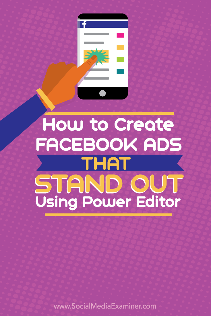 how to create facebook ads that stand out