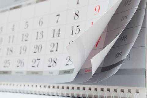 calendar shutterstock 185158565