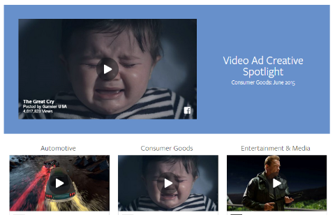 facebook video ad creative spotlight