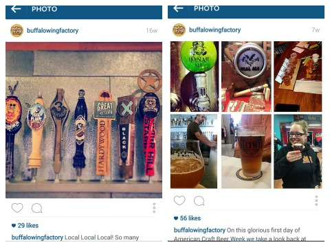 Both the brewers and the restaurants support one another with tap takeovers, which are rich grounds for Instagram photos and tags.