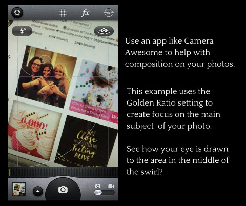The Camera Awesome app from SmugMug is available on iOS and Android.