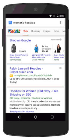 purchases on google