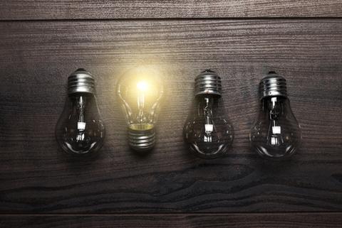 glowing bulb shutterstock 131446532