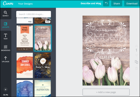 image creation in canva