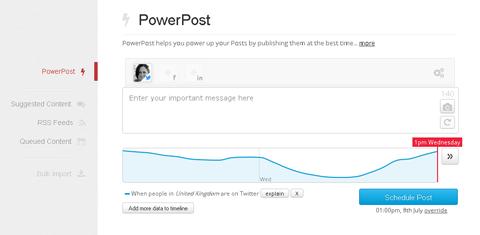 manageflitter powerpost feature