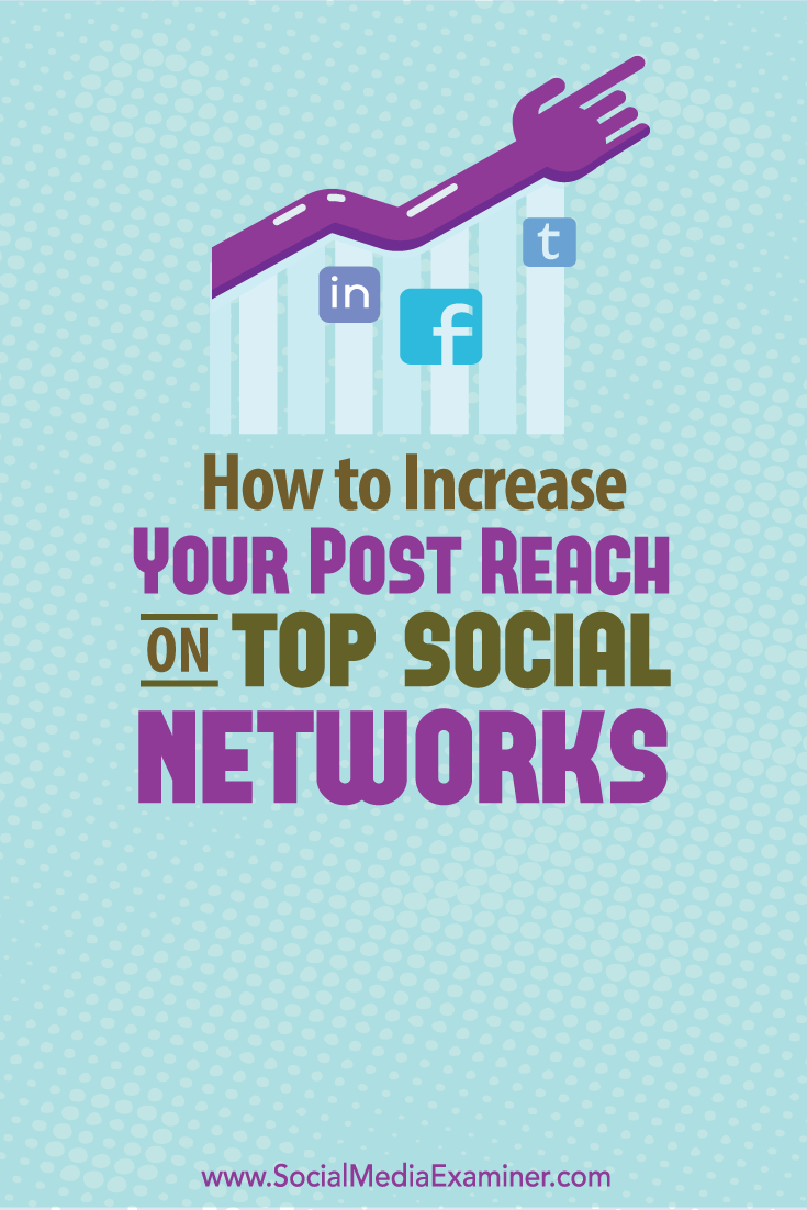 how to increase post reach