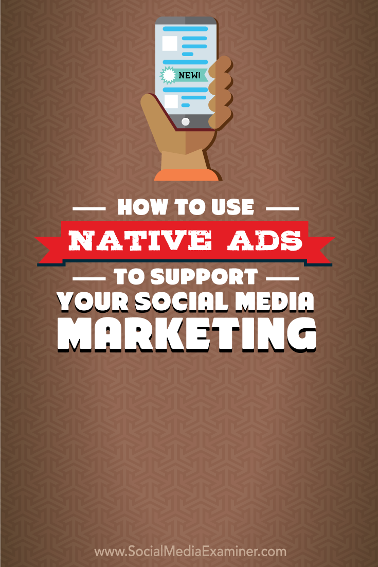 how to use native ads