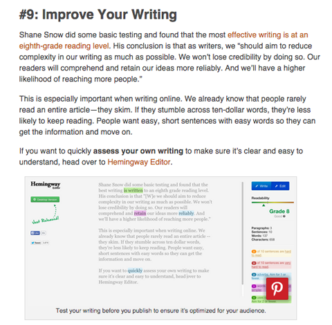 26 tools to improve your blogging article by melanie nelson