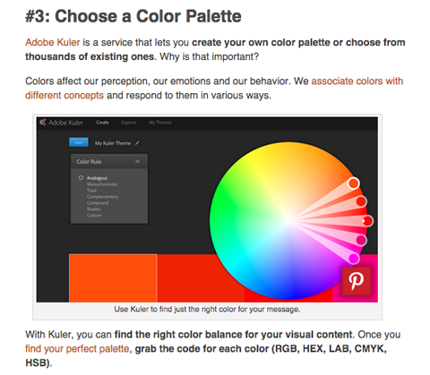adobe kuler visual content tool