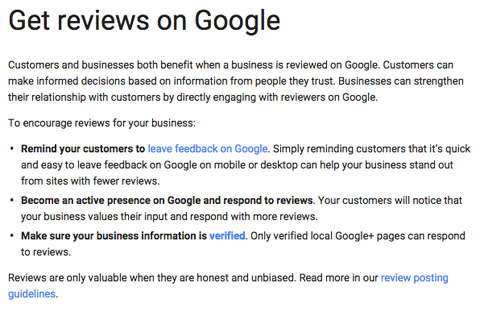 get reviews on google faq answer