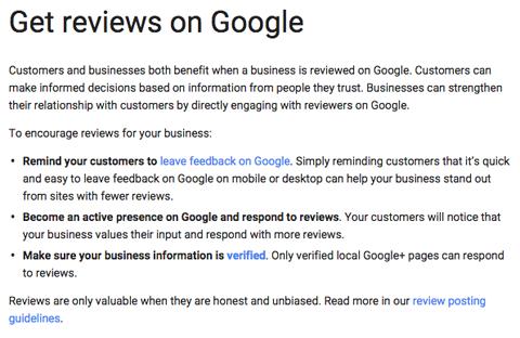 get reviews on google faq answer